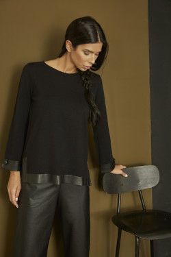 PTA4185 SWEATER WITH...
