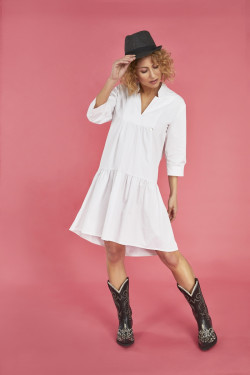 T / 2155318 DRESS WITH...