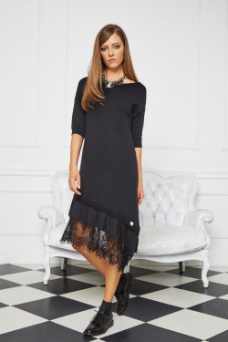 N867 / 21 DRESS WITH LACE...